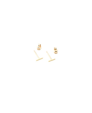 May Martin 14KT Gold Staple Earring