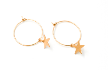 May Martin Star Hoops