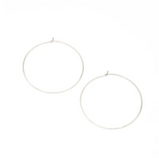 May Martin Sterling Silver Hoops