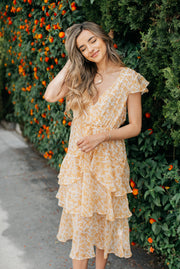 MinkPink Lana Midi Dress