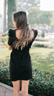 MinkPink Puff Sleeve Dress