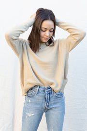 MinkPink Warm Feelings Sweater in Natural