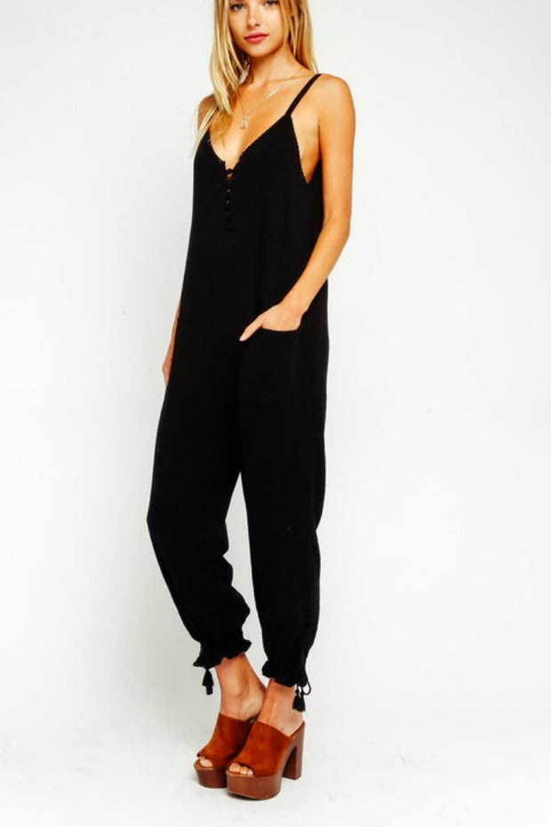 Olivaceous On The Road Jumpsuit