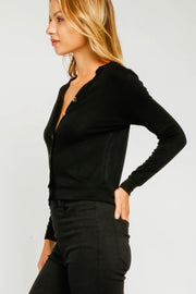 Olivaceous Siene Top in Black