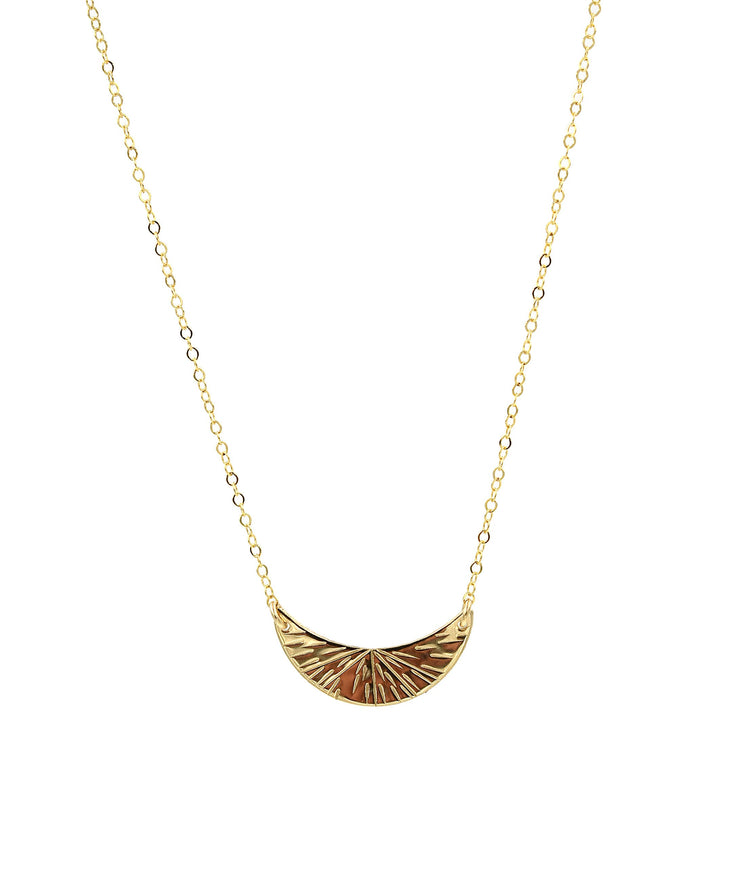 Paradigm Crescent Necklace