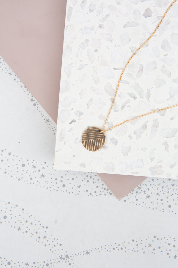 Paradigm Flow Coin Necklace