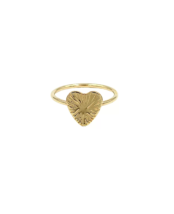 Paradigm Design Sunburst Heart Ring