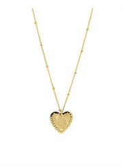 Paradigm Design Small Heart Studded Necklace