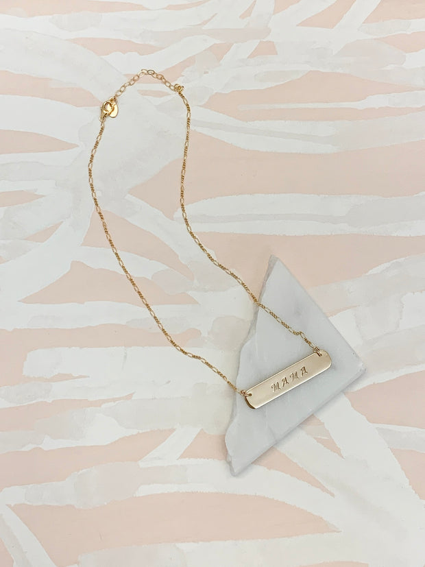 Paradigm Design Mama Bar Necklace