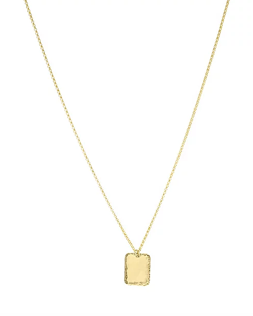 Paradigm Design Mirrored Rectangle Necklace