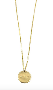 Paradigm Design Wifey Coin Necklace