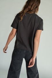 Perfect White Tee Harley Tee in Vintage Black