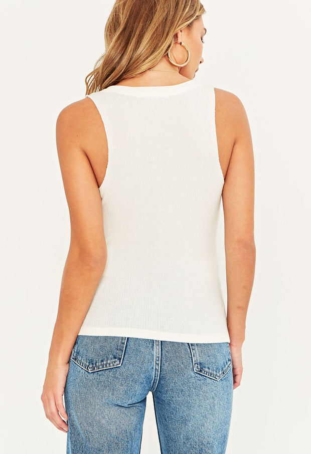 Project Social T Inca Tank in White