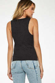 Project Social T Lori Notch Tank in Charcoal