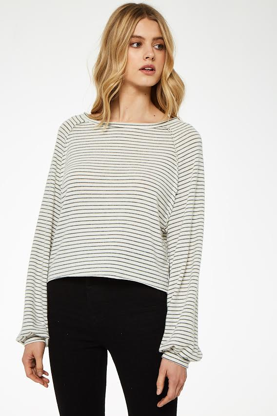 Project Social T Wishing Stripe Long Sleeve