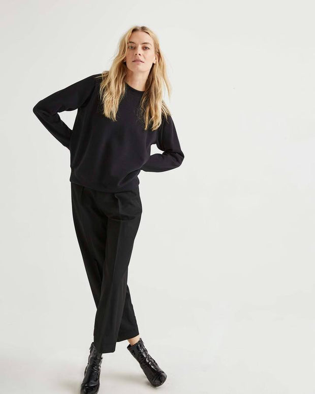 Richer Poorer Crew Sweatshirt in Black