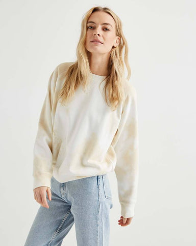 Richer Poorer Crew Sweatshirt in Cloud Wash