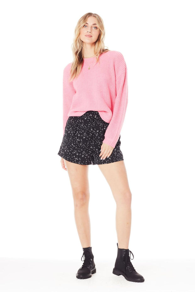 Saltwater Luxe Leila Sweater in Hot Pink