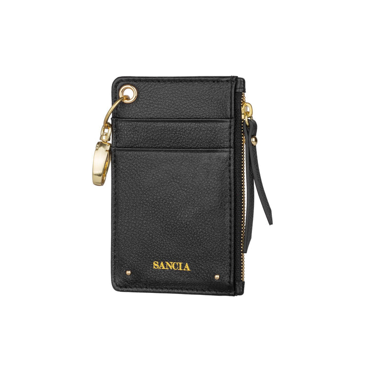 Sancia The Mimmie Card Pouch in Black