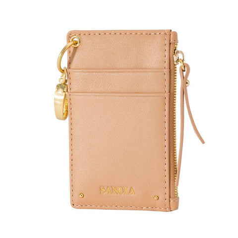 Sancia Mimmie Card Pouch in Toast