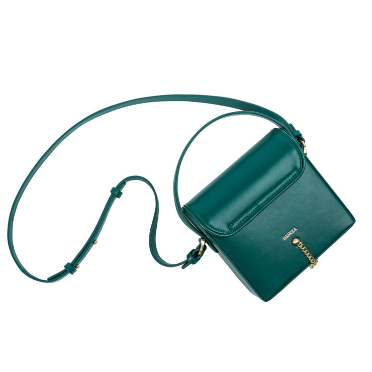 Sancia The Maeve Mini in Hunter Green