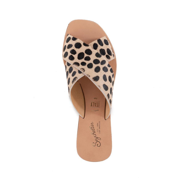 Seychelles Total Relaxation Sandal in Cheetah