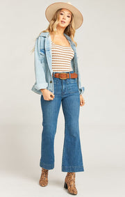 Show Me Your Mumu Denver Denim Jacket