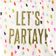 Slant Collections Let's Partay Napkins