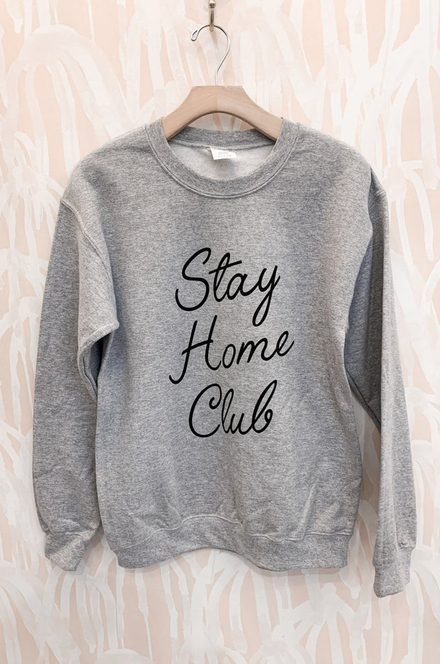 Stay Home Club Pullover
