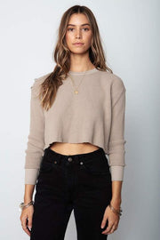 Stillwater Crop Thermal in Taupe