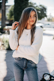 Summit + Peak Dreams Sweater in Ivory