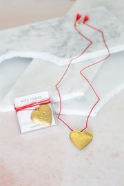 Sunday Forever Zodiac Lover Letter Locket Necklace