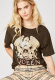 Daydreamer Queen Crest Boyfriend Tee