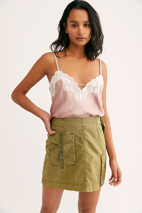 Free People Wish I May Cami in Blush