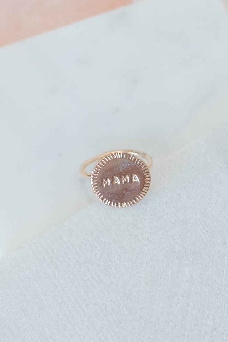 Paradigm Design Mama Signet Ring