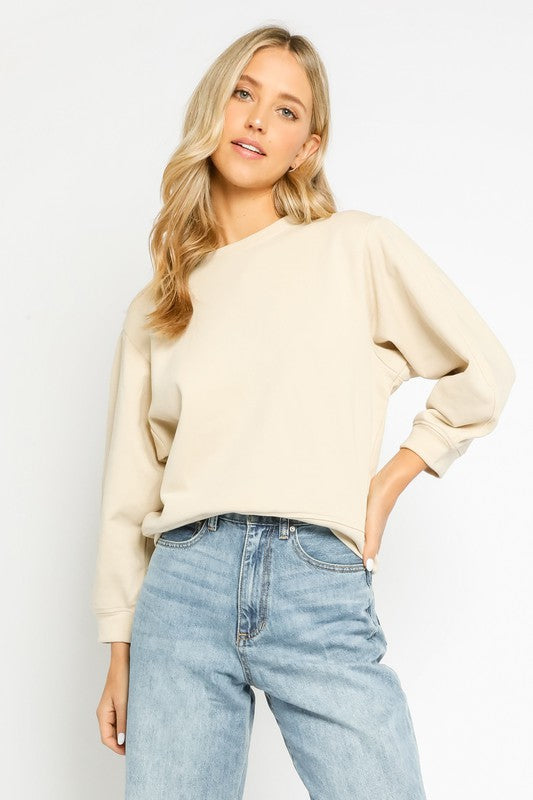 Olivaceous Jaymes Pullover in Natural
