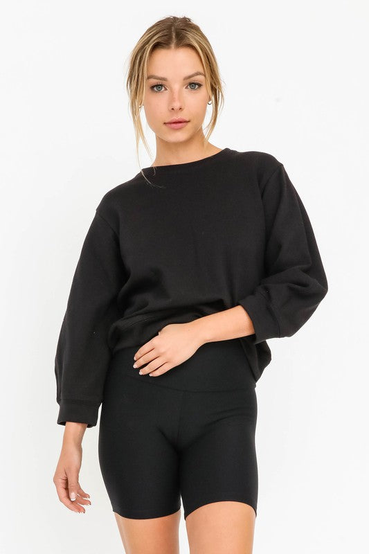 Olivaceous Jaymes Pullover in Black