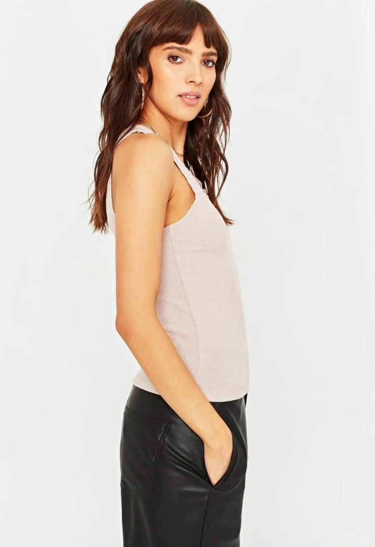 Project Social T Inca Tank in Taupe
