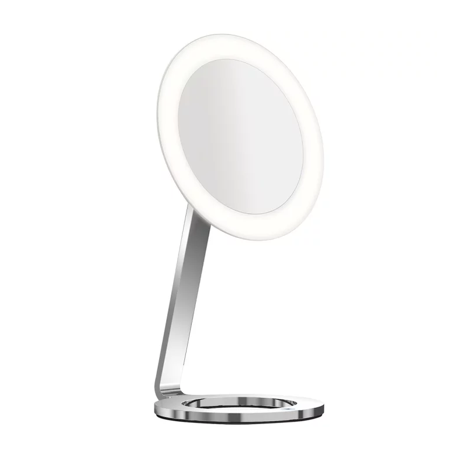 Magnifying Makeup Mirror LED - MoonDance Free Standing