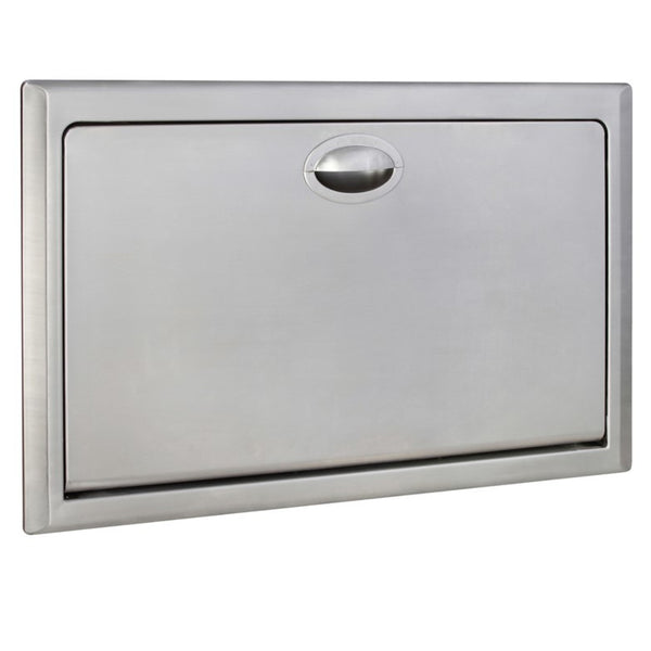 Supreme Baby Change Table Stainless Steel Recessed