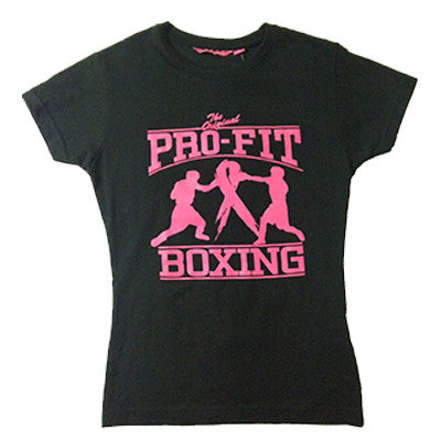 Breast Cancer Awareness Pro-Fit Boxing T-Shirt