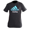 Adidas Community Line T-Shirt Black/Solar Blue