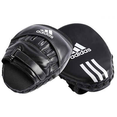 Adidas Curved Short Focus Mitt with Ball Grip