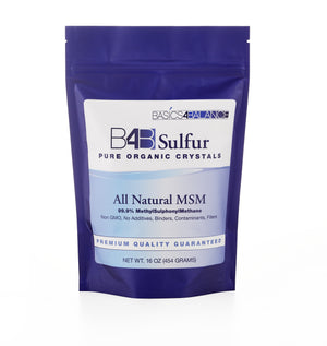 B4B Organic Sulfur MSM - Backordered until 3/16