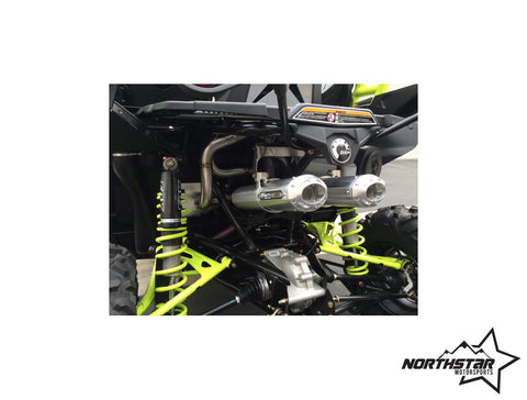 TRINITY RACING - MAVRICK X ds STAGE 5 TURBO BACK DUAL SYSTEM