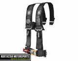 "PRO ARMOR 4 Point 3"" Harness w/ Sewn in Pads"