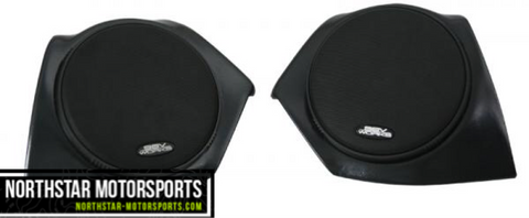 "SSV WORKS Polaris Ace Front Speaker Pods with 120 watt 6 1/2"" speakers"
