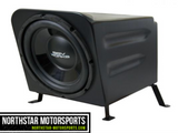 "SSV WORKS Kawasaki Teryx Rear Center Sub Box with 600 watt 10"" woofer"