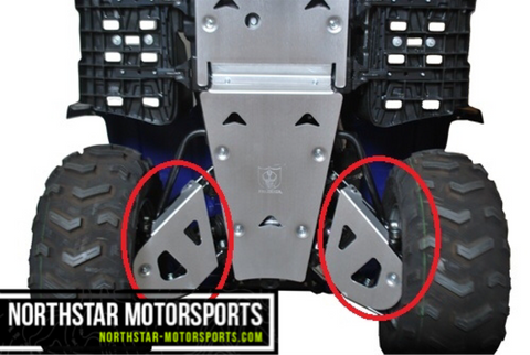 PRO ARMOR Yamaha Grizzly 700 Rear A-Arm Guards