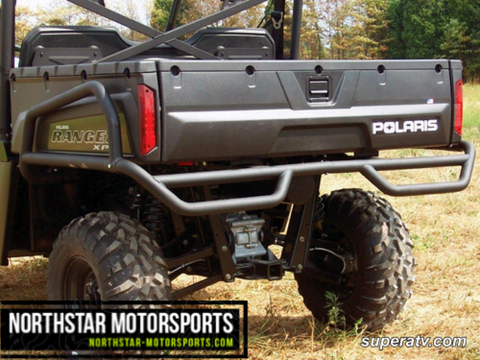 SUPER ATV Polaris Ranger XP/Crew Rear Extreme Bumper With Side Bed Guards